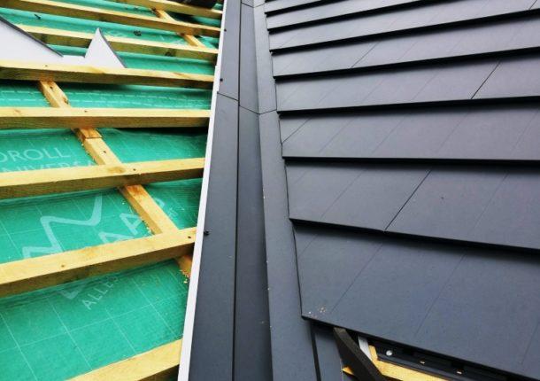 Milton metal roofing