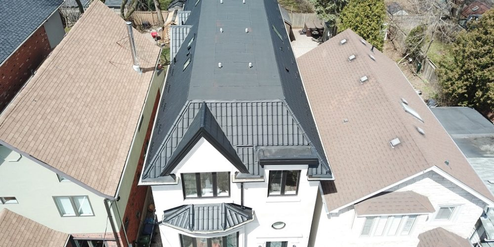 Traditional metal roofing