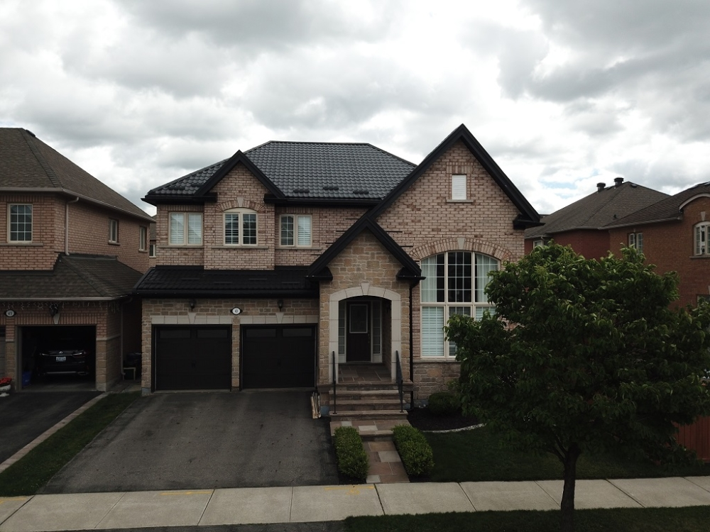 Luxury steel roofing Toronto