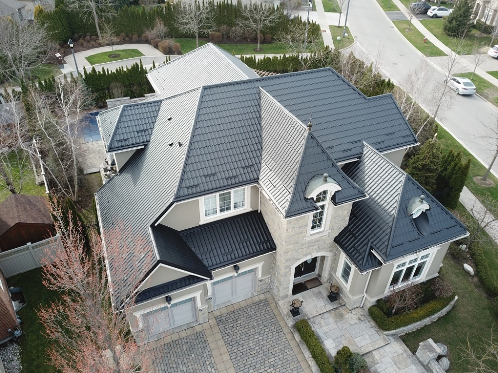 Luxury metal roofing