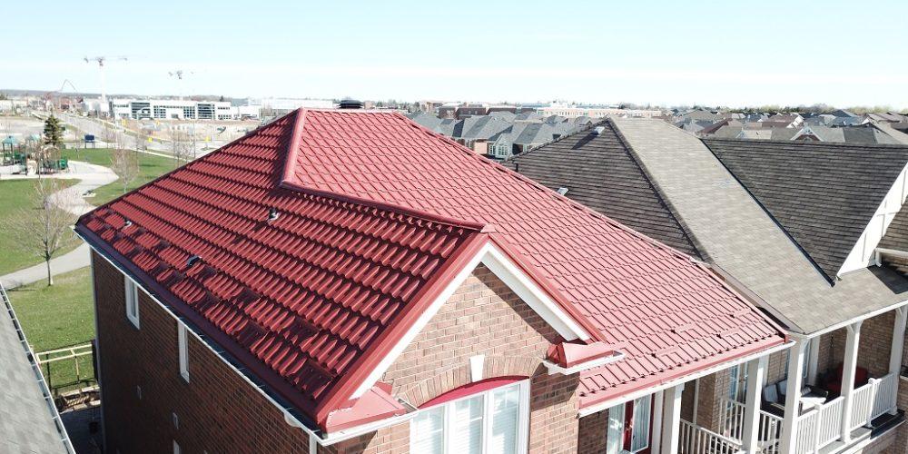 Mississauga metal roofing progect